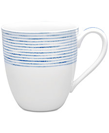 Noritake Blue Hammock Mug, Created for Macy's