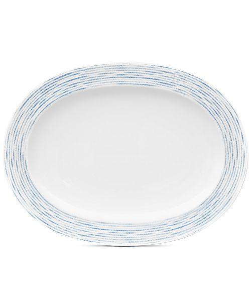 Noritake Hammock Oval Platter, Created for Macy's