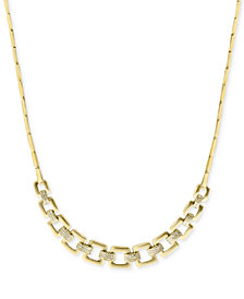 D'oro by EFFY® Diamond Chain Collar Necklace (3/4 ct. t.w.) in 14k Gold