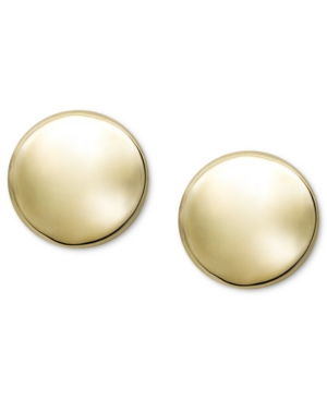 Click here for 14k Gold Earrings  Button Stud prices