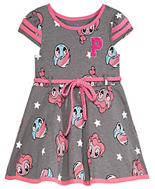 My Little Pony Belted Printed Dress, Baby Girls