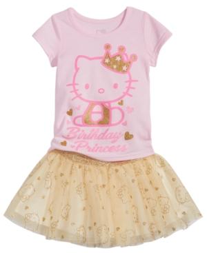 Hello Kitty 2Pc TShirt  Tutu Skirt Set Baby Girls (024 months)
