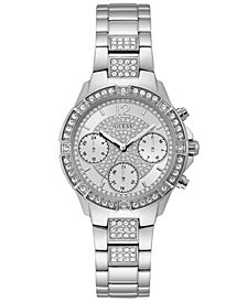 GUESS Women's Stainless Steel Bracelet Watch 36mm