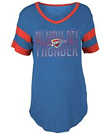 Women's Oklahoma City Thunder Hang Time Glitter T-Shirt