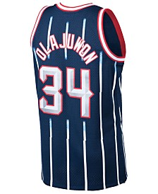 Mitchell & Ness Men's Hakeem Olajuwon Houston Rockets Hardwood Classic Swingman Jersey