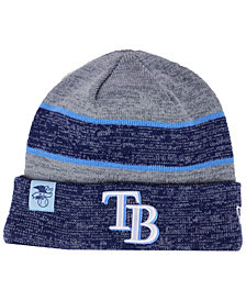 New Era Tampa Bay Rays On Field Sport Knit Hat