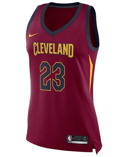 4474cb4e56a Nike Women s LeBron James Cleveland Cavaliers Swingman Jersey ...