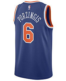 Nike Men's Kristaps Porzingis New York Knicks Icon Swingman Jersey