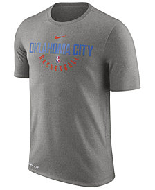 Nike Men's Oklahoma City Thunder Dri-FIT Cotton Practice T-Shirt