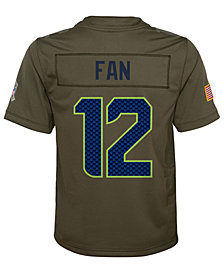 Nike Seattle Seahawks Salute To Service Jersey, Big Boys (8-20)