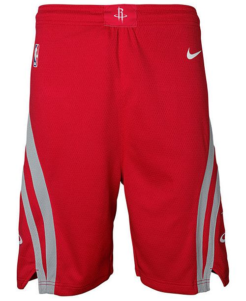 competitive price bf40c b8096 Nike Houston Rockets Icon Swingman Shorts, Big Boys (8-20 ...