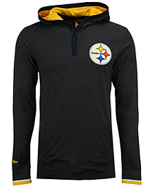 Mitchell & Ness Men's Pittsburgh Steelers Seal The Win Long Sleeve Hoodie