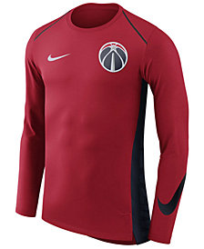 Nike Men's Washington Wizards Hyperlite Shooter Long Sleeve T-Shirt
