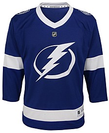 Tampa Bay Lightning Blank Replica Jersey, Big Boys (8-20)