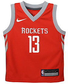 Nike James Harden Houston Rockets Icon Replica Jersey, Little Boys (4-7)