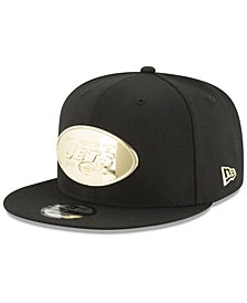 New Era New York Jets O'Gold 9FIFTY Snapback Cap