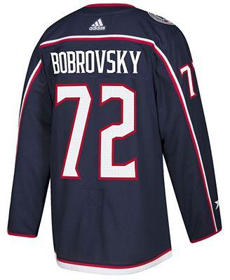 adidas Men's Sergei Bobrovsky Columbus Blue Jackets Authentic Player Jersey