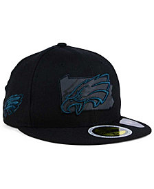New Era Philadelphia Eagles State Flective Metallic 59FIFTY Fitted Cap