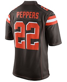 Nike Jabrill Peppers Cleveland Browns Game Jersey, Big Boys (8-20)