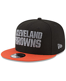 New Era Cleveland Browns Heather Pop 9FIFTY Snapback Cap