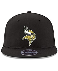 Minnesota Vikings Team Color Basic 9FIFTY Snapback Cap