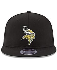 Minnesota Vikings Team Color Basic 9FIFTY Snapback Cap