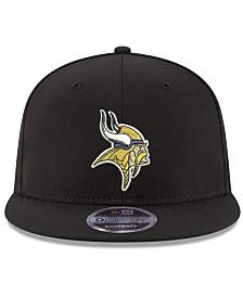New Era Minnesota Vikings Team Color Basic 9FIFTY Snapback Cap