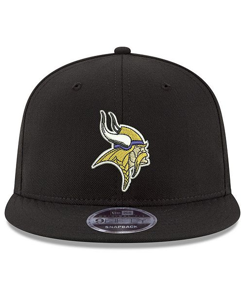 los angeles 4e799 06a28 Minnesota Vikings Team Color Basic 9FIFTY Snapback Cap ...