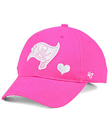 '47 Brand Girls' Tampa Bay Buccaneers Sugar Sweet MVP Cap