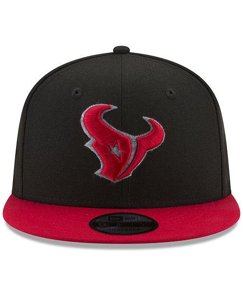 buy online 812a8 862fb New Era Houston Texans Heather Pop 9FIFTY Snapback Cap ...