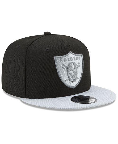 4846c3a516b New Era Oakland Raiders Heather Pop 9FIFTY Snapback Cap - Sports Fan ...