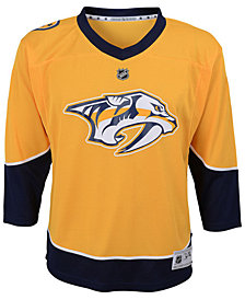 Authentic NHL Apparel Nashville Predators Blank Replica Jersey, Little Boys (4-7)
