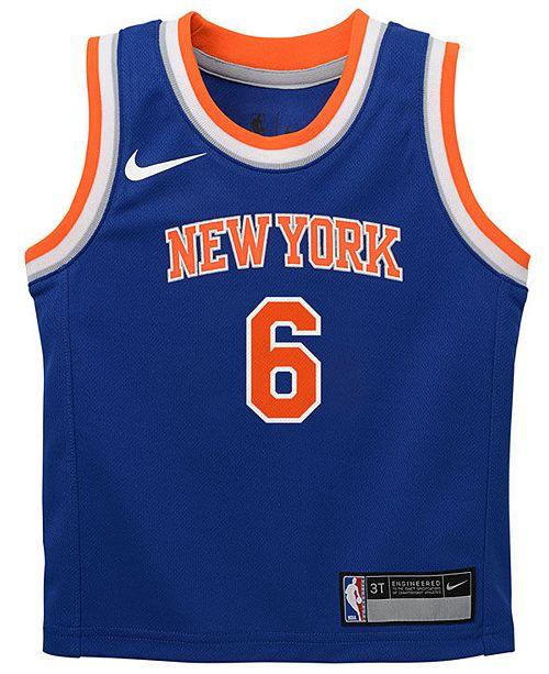 fdafed742 Nike Kristaps Porzingis New York Knicks Icon Replica Jersey