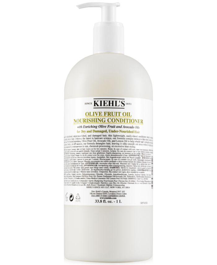 Kiehl's Since 1851 Olive Fruit Oil Nourishing Conditioner, 33.8 fl. oz. & Reviews - Beauty - Macy's