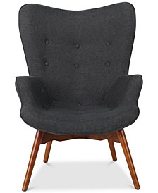 Perlie Contour Chair, Quick Ship