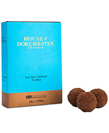House Of Dorchester Sea Salt Caramel Truffles Book Box