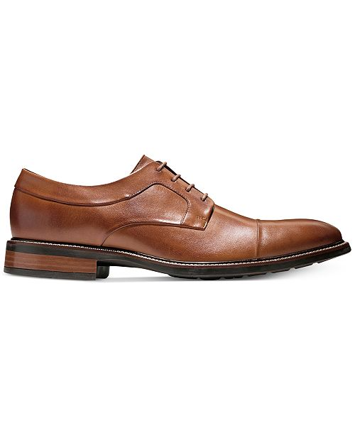 25484540d9d198 Cole Haan Men s Hartsfield Cap-Toe Oxfords   Reviews - All Men s ...