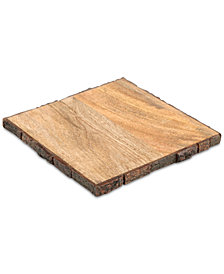 CLOSEOUT! Thirstystone Bark-Edge Wood Trivet