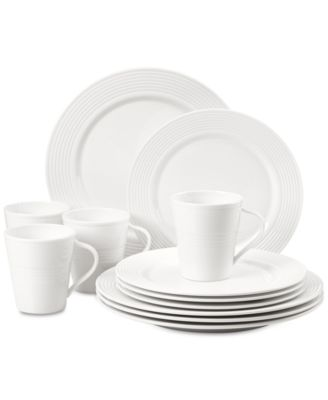 Tin Can Alley 12-Pc. Dinnerware Set Service for 4, Created for Macy's