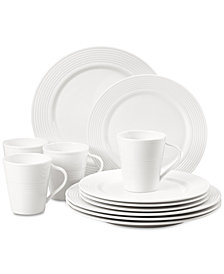 Lenox Tin Can Alley 12-Pc. Dinnerware Set Service for 4, Created for Macy's
