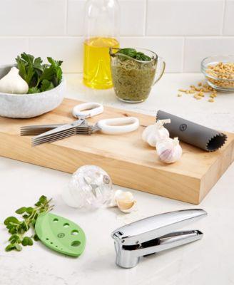 Martha Stewart Collection Silicone Garlic Peeler Garlic Tools Kitchen Utensils & Gadgets