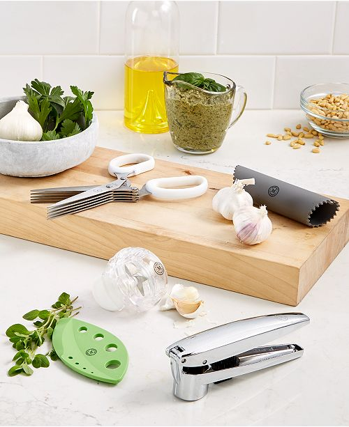 Martha Stewart Collection Good Tools for Garlic & Herbs, Created for Macy's