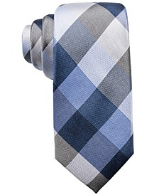 Men's Weho Check Slim Silk Tie, Created for Macy's