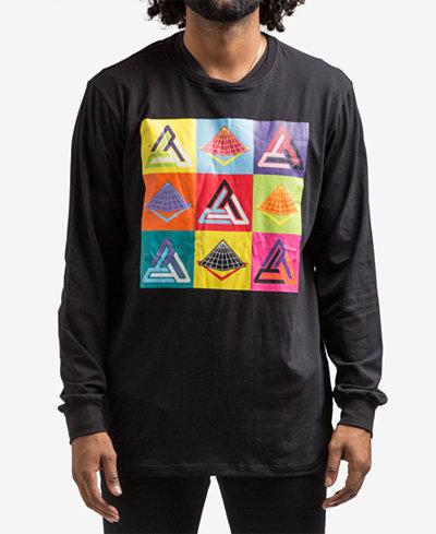 Black Pyramid Men's Color Spectrum Long-Sleeve T-Shirt