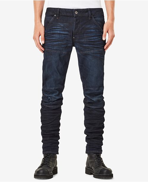 9a7493068b2 G-Star Raw Men s 5620 3D Slim-Fit Stretch Jeans   Reviews - Jeans ...