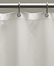 "Weighted Fabric 70"" x 72"" Shower Curtain Liner"