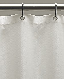 "Excell Weighted Fabric 70"" x 72"" Shower Curtain Liner"