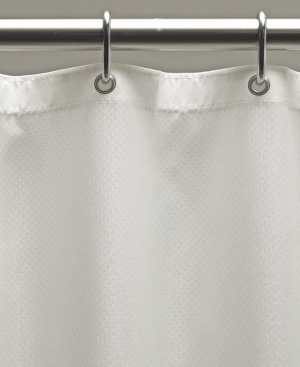 Excell Weighted Fabric 70 x 72 Shower Curtain Liner Bedding