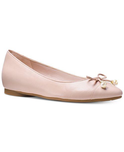 25e9e021 Michael Kors Gia Ballet Flats & Reviews - Flats - Shoes - Macy's