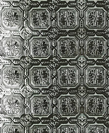 Graham & Brown Metallic Tile Wallpaper